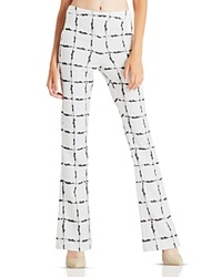 Bcbgeneration Flared Printed Pants