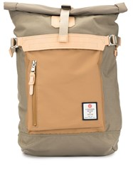 As2ov Foldover Top Backpack Brown