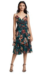 Ali And Jay Love Is All Around Midi Dress Pine Floral
