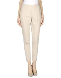 Comma Trousers Casual Trousers Women Beige