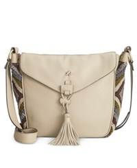 Nanette Lepore Flap Saddle Bag Huskey Multi