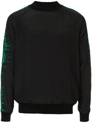 Haider Ackermann Sophora Embroidered Sweatshirt Black