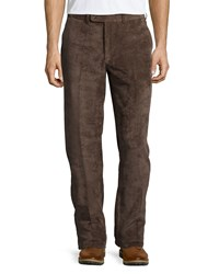 Peter Millar Nanoluxe Corduroy Pants Brown