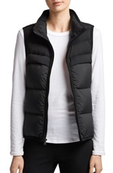 James Perse Quilted Down Vest Black Carbon