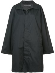 Y Project Double Layered Oversize Parka Black