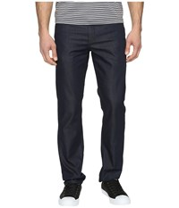 Perry Ellis Slim Fit Dark Indigo Denim In Medium Indigo Medium Indigo Men's Jeans Navy