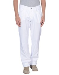 Tru Trussardi Trousers Casual Trousers Men White