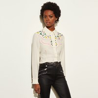 Coach Western Shirt With Embellishment Natural