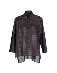 Aglini Shirts Shirts Women Grey