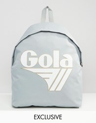 Gola Exclusive Classic Backpack In Grey And White Grey