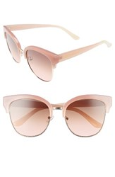 Sam Edelman Women's Circus By 52Mm Retro Sunglasses Pink Nude Pink Nude