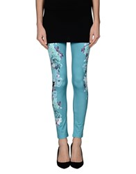 Annarita N. Trousers Leggings Women Turquoise