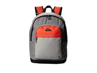 Quiksilver Dart Stripe Radio Active Backpack Bags Gray