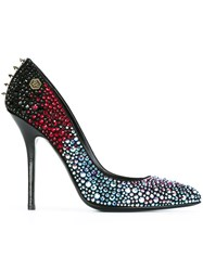 Philipp Plein 'Sharky' Pumps Blue