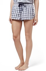 Women's Topshop 'Martha' Check Pajama Shorts