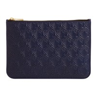 Liberty London Medium Embossed Pouch Navy
