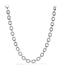 Oval Large Link Necklace David Yurman Red