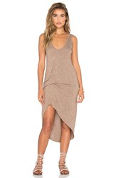 Riller And Fount Bianca Dress Brown