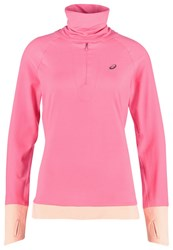 Asics Thermopolis Long Sleeved Top Camelion Rose Pink