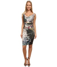 Nicole Miller Flora Metal Date Night Dress Multi Women's Dress