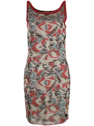 Missoni Patterned Day Dress Multicolour