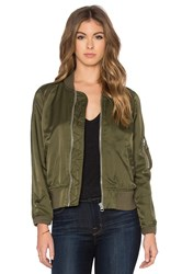 Nlst Shrunken Spring Flight Jacket Olive