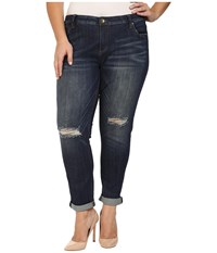 Kut From The Kloth Plus Size Catherine Slouchy Boyfriend Jeans In Commitment Commitment Women's Jeans Blue