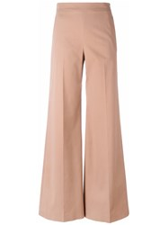 M Missoni Flared Tailored Trousers Nude Neutrals