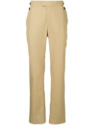 Band Of Outsiders Straight Chinos Neutrals