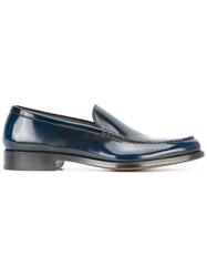 Doucal's Belfast Loafers Blue