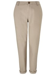 Dash Dark Stone Chino Roll Up Neutral