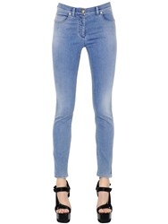 Versace Skinny Cotton Stretch Denim Jeans