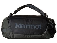 Marmot Long Hauler Duffle Bag Small Slate Grey Black Duffel Bags