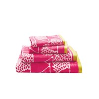 Scion Spike Towel Pink Guest Towel