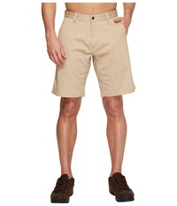 Mountain Khakis Lake Lodge Twill Short Light Khaki Men's Shorts