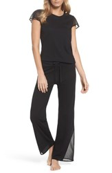 Naked Women's Cotton Pajamas Black