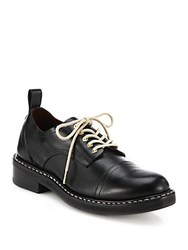 Rag And Bone Milo Oxford Leather Shoes Black