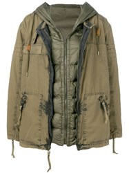 Mr And Mrs Italy Layered Parka Coat 60