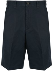 Kent And Curwen Classic Chino Shorts Blue