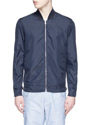 Orlebar Brown Fairley' Windbreaker Jacket Blue