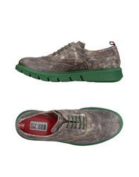 Yab Lace Up Shoes Steel Grey