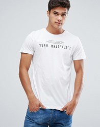 Tom Tailor T Shirt With Whatever Print 2999 White