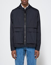 Tres Bien Short Parka Two Layer Navy