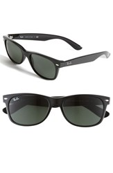 Women's Ray Ban 'New Large Wayfarer' 55Mm Sunglasses Black