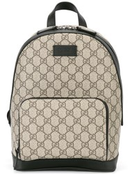 Gucci Monogram Backpack Nude Neutrals