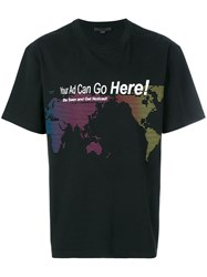 Alexander Wang Your Ad Can Go Here T Shirt Black