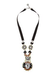 Marella Berna Beaded Necklace With Ribbon N A N A