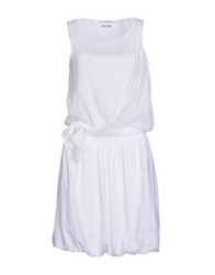 Fairly Short Dresses White