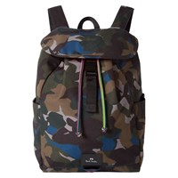 Paul Smith Ps Camouflage Backpack Green