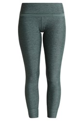 Lorna Jane Flexion Core Ankle Biter Tights Military Marl Green